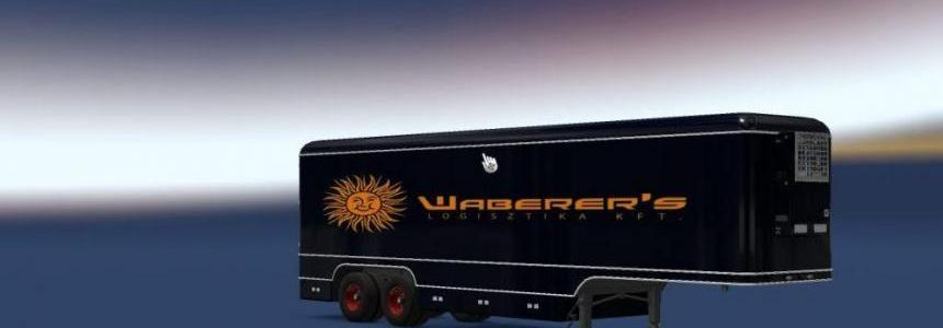 Old Trailer Waberer's to Volvo F88 v1.0