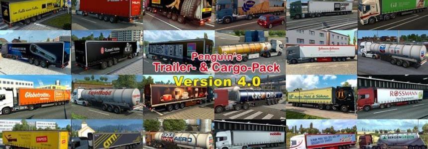 Penguins Trailer and CargoPack v4.0