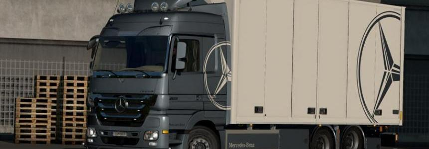 Rigid Chassis for Mercedes Actros MP3 Reworks v3.5