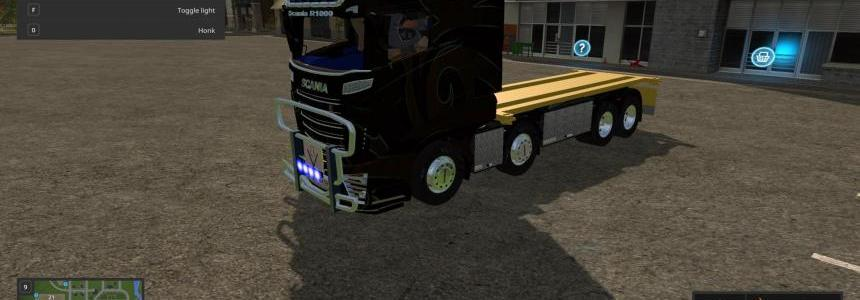 Scania R1000 Black v1.0