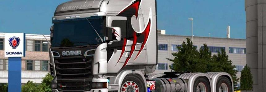Scania RJL modified in Brazilian style mega upgrade v1.0