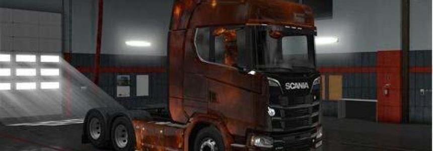 Scania S Next Generation Starry Skin