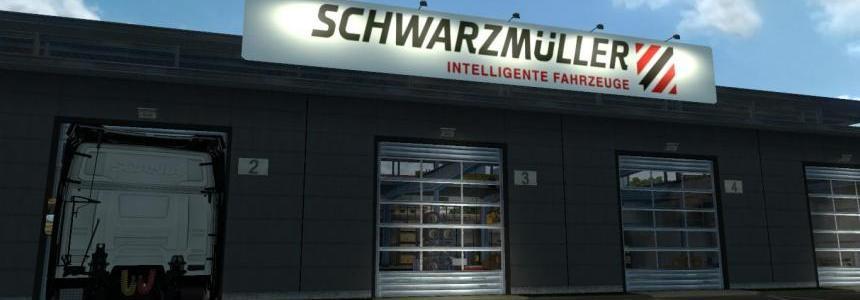 Schwarzmuller Garage Logo Board v1.0