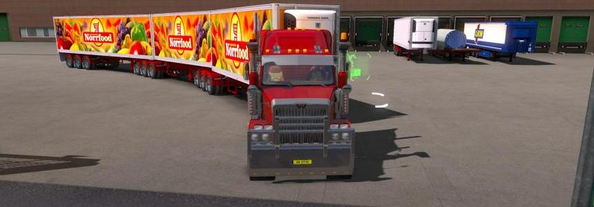 Vawdrey Refrigerated Semi-trailers for 1.31