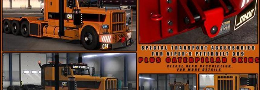 Special Transport Accessories + Caterpillar skins v2.0