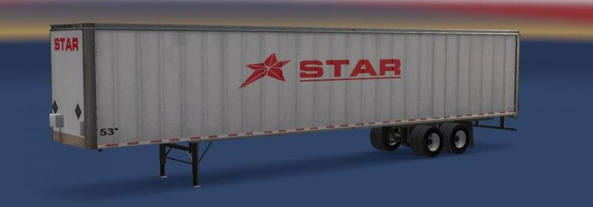 Star Transport Inc. 53 Long Box Standalone Trailer v2.2
