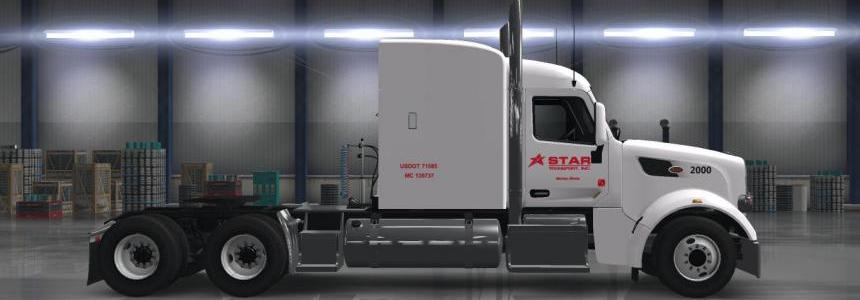 Star Transport Inc. for GTM's Peterbilt 567 v1.0