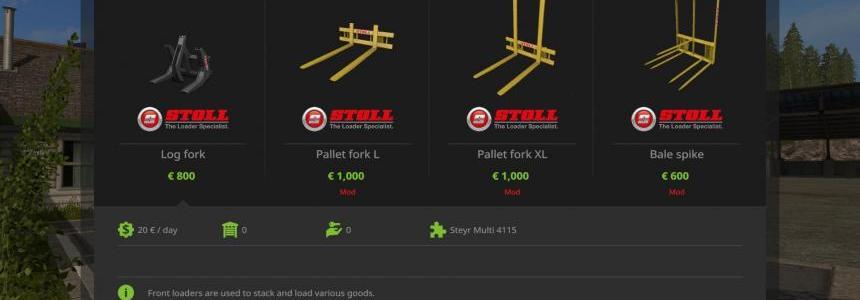 Stoll Frontlader Tools v1.0