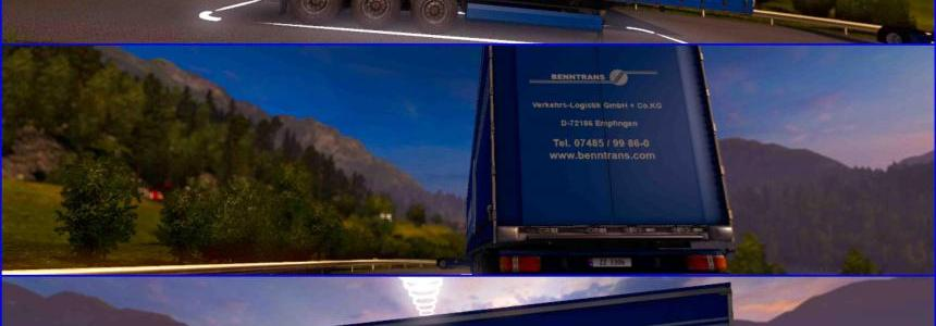 Trailer Benntrans For ETS2 1.30
