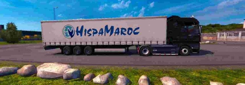 Trailer HispaMaroc For ETS2 1.30