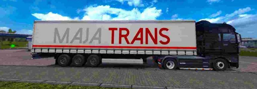 Trailer Maja Transport For ETS2 1.30