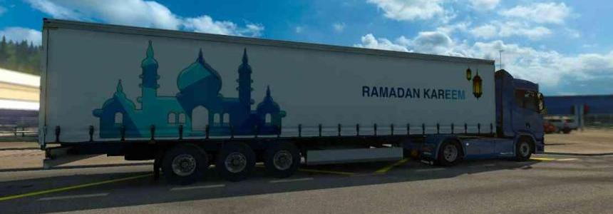 Trailer Ramadan Kareem For ETS2 1.31.2.2