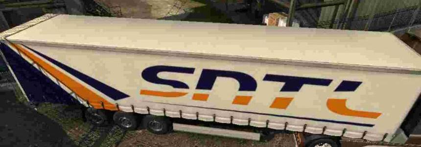 Trailer SNTL Transport For ETS2 1.30
