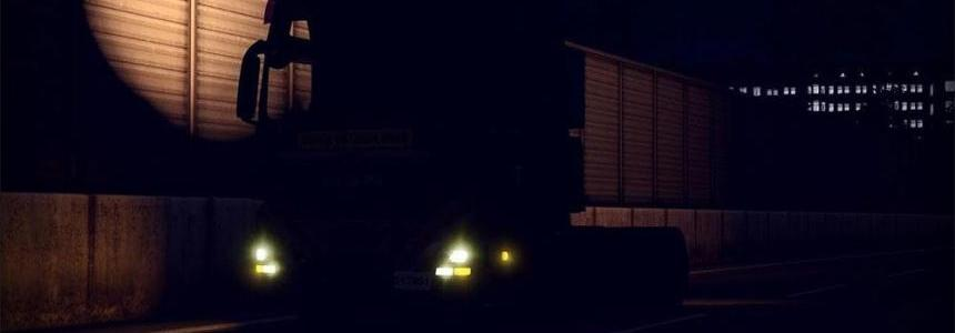 Yellow Xenon Lights Update 1.31.x