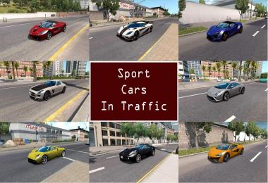 Sport Cars Traffic Pack by TrafficManiac v1.1