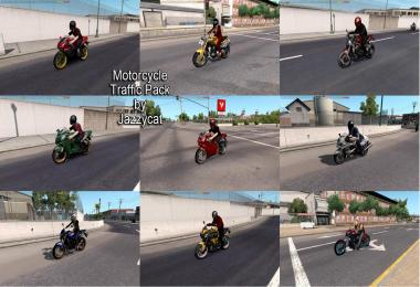 Motorcycle Traffic Pack by Jazzycat v1.0