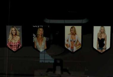 Kaley Cuoco Pennants Pack v1.0