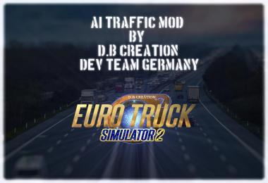 AI Traffic Mods 2018 by D.B Creation