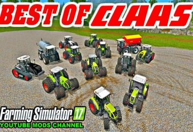 ALL CLAAS TOP TRACTOR PACK v1.0