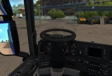 Animated Steering Wheel for all Truck's (1.30/1.31)