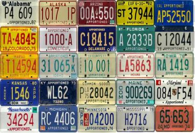 ATS U.S. States Apportioned License Plate Pack v1.0