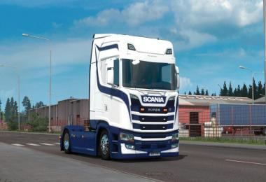 Bergsma skin for Scania S and R 1.31