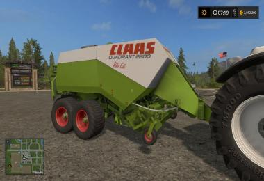 Claas Rollant Rundballenpresse v1.2.0