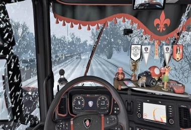 Custom CABINE ADONS FOR SCANIA NEXT GEN v1.0