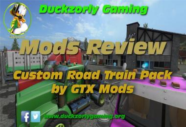Custom Road Train Pack v2.2