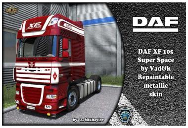 DAF XF 105 Metallic 02 Skin 1.31