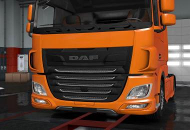 DAF XF Euro 6 Plastic Front Badge Plate 1.31