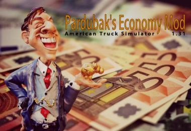 Economy Mod by Pardubak for ATS 1.31.x