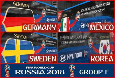 FIFA WORLD CUP 2018 RUSSIA Group F Official Buses Volvo 9800 v1.0