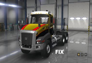 Fix for truck Caterpillar CT660 v1.0