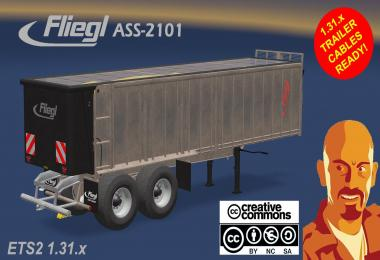 FLIEGL ASS2101 AGRICULTURAL TRAILER (NEEDS AGRAR TRUCK) 1.31.x
