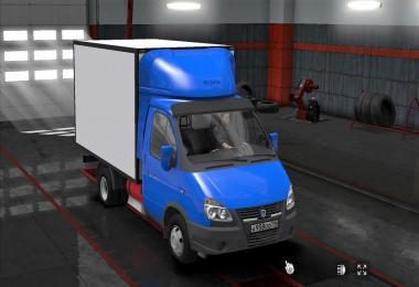 GAZ Valdai + trailer 1.31