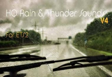 HQ RAIN & THUNDER SOUND v4.0