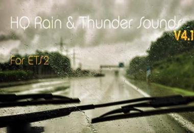 HQ RAIN & THUNDER SOUNDS v4.1