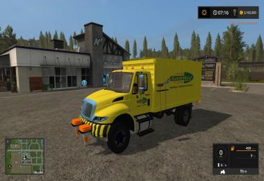 International chipper truck v1.0