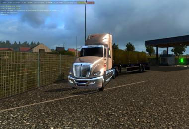 International Prostar + skin Russian Express for ETS2 1.31.x
