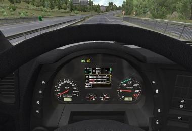 Iveco XP Dashboard for Hi Way + Dark Interior v1.0