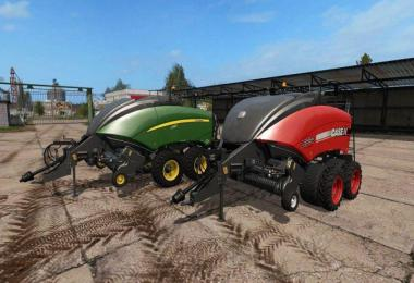 John Deere and Case IH square baler v1.0