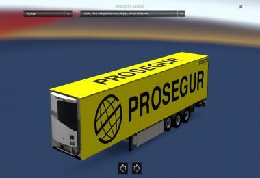 Kogel Trailer Skin Prosegur v1.0