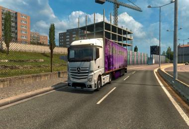 Mercedes Actros MP4 Reworked v1.4