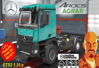 MERCEDES BENZ AROCS AGRAR ETS2 1.31.x