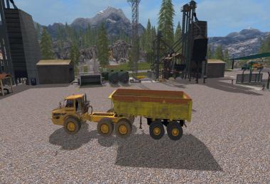 Modpack Volvo A40G + Semitrailer v1.0