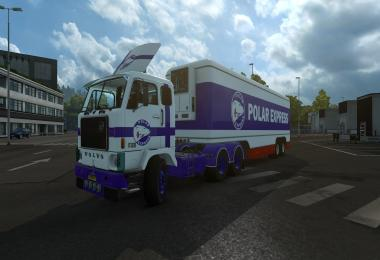 Old Trailer Kassbohrer for Volvo F88 v1.0