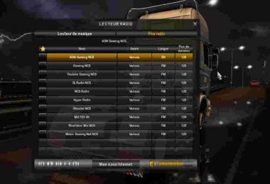 Radio Gaming NCS v0.0.2 For ATS & ETS2 - MultiPlayer & Offline