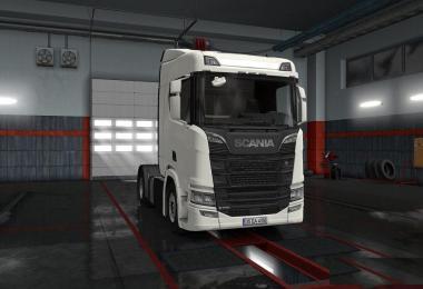 Scania Nextgen Series Custom Licence Plate v1.0