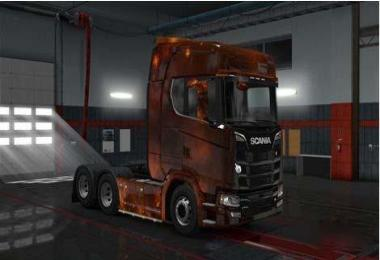 Scania S Next Generation Starry Skin